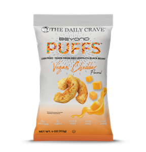 Beyond Puffs by The Daily Crave Reviews and Info - high protein, dairy-free, vegan, gluten-free crunchy snacks