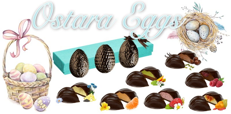 Dairy-Free and Vegan Alternatives to Cadbury Creme Eggs, including chocolate eggs with various cream fillings. US, Canada, UK, Europe, and Australian options! Pictured: Gnosis Cream Filled Eggs