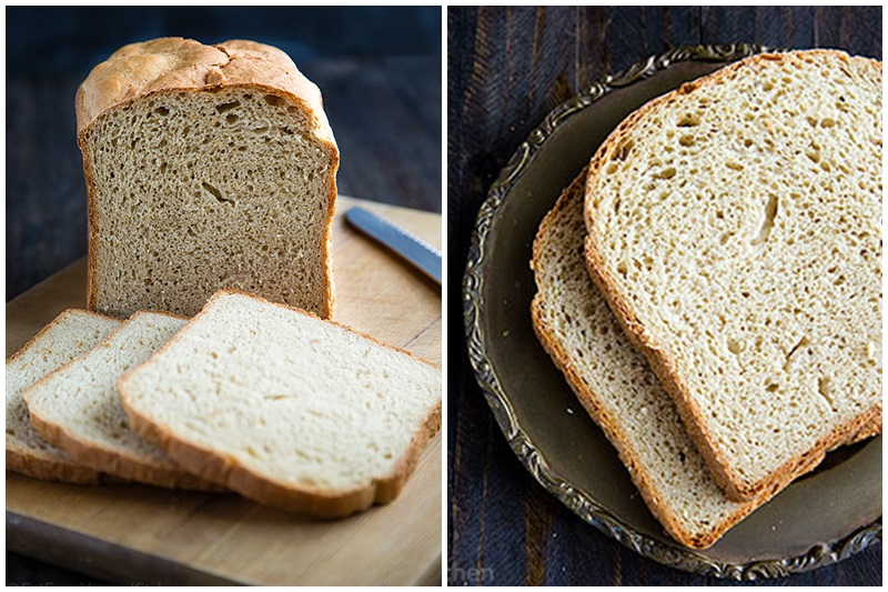 Dairy-Free Bread Machine Recipes - a round up of everyday loaves for your breadmaker. Vegan-friendly, nut-free, and soy-free.