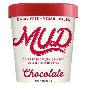 Mud Ice Cream (Dairy-Free) Reviews and Information - 5 or less ingredients, sweetened solely with dates, made with creamy coconut milk, vegan, gluten-free, soy-free