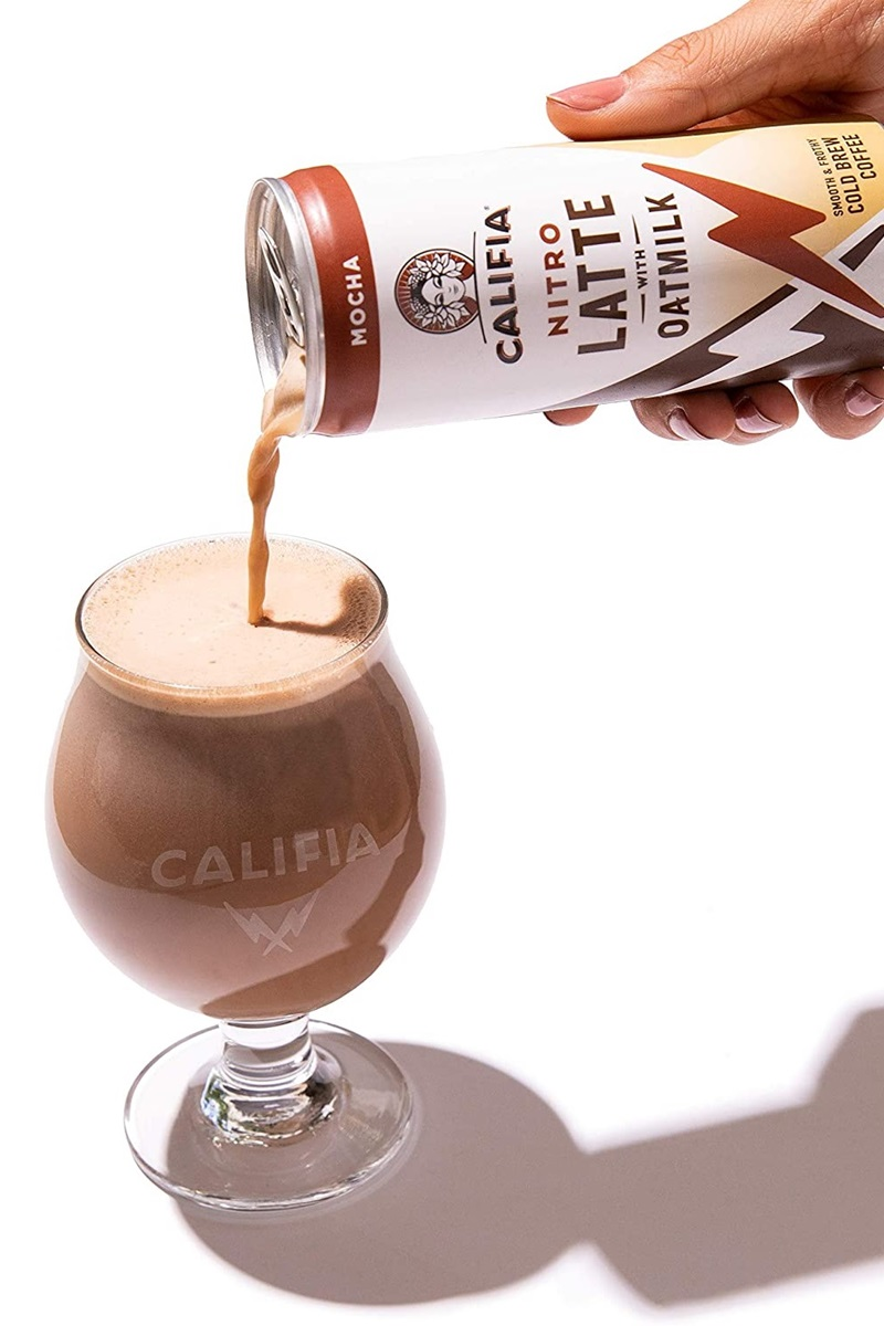 Califia Nitro Oatmilk Lattes Reviews and Info (Dairy-Free, Allergy-Friendly, Vegan, Creamy Cold Brews in 4 Flavors (we have ingredients, availability, and more!)