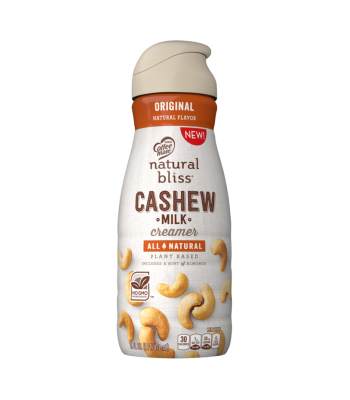 Natural Bliss Cashew Milk Creamer Reviews and Information (Dairy-Free, Plant-Based, and Vegan)