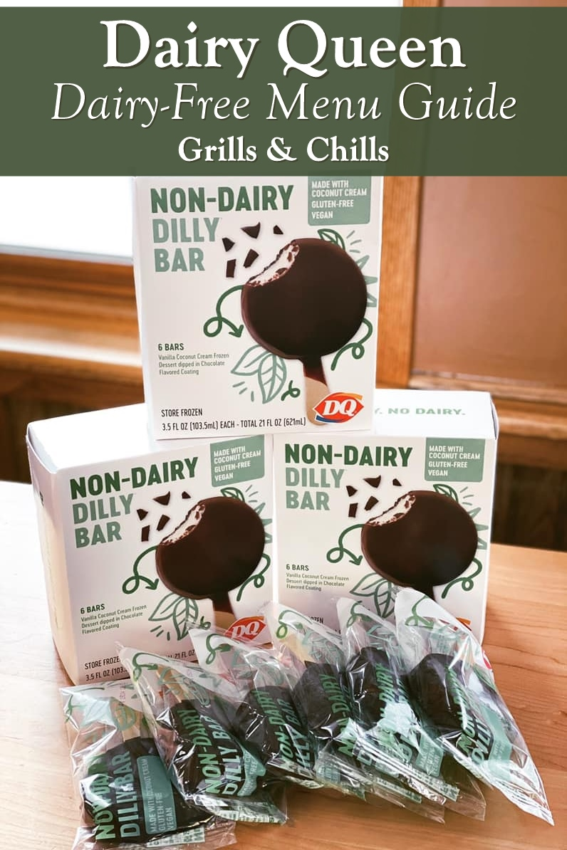 Dairy Queen Dairy-Free Menu Guide - New Non-Dairy Dilly Bars
