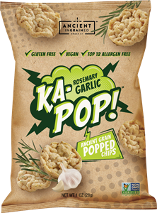 Ka-Pop Popped Chips Reviews and Info - dairy-free, gluten-free, nut-free, vegan, and allergy-friendly. Made with popped sorghum and loads of flavor!