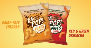 "Ka-Pop Puffs Reviews and Information - dairy-free, gluten-free, corn-free, rice-free, and top allergen-free ""cheese"" puffs and spicy puffs"