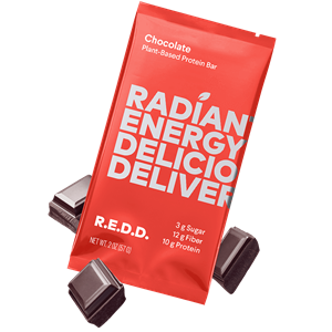 R.E.D.D. Protein Bars Reviews and Information - Dairy-Free, Plant-Based, Low Sugar. We have ingredients, availability, and more .... Pictured: Chocolate