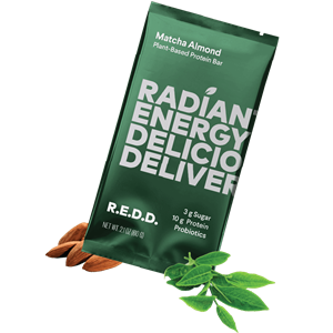 R.E.D.D. Protein Bars Reviews and Information - Dairy-Free, Plant-Based, Low Sugar. We have ingredients, availability, and more .... Pictured: Matcha Almond