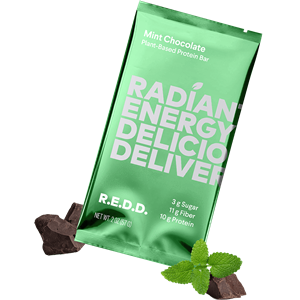 R.E.D.D. Protein Bars Reviews and Information - Dairy-Free, Plant-Based, Low Sugar. We have ingredients, availability, and more .... Pictured: Mint Chocolate