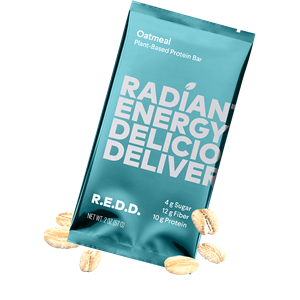 R.E.D.D. Protein Bars Reviews and Information - Dairy-Free, Plant-Based, Low Sugar. We have ingredients, availability, and more .... Pictured: Oatmeal