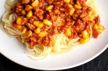 Easy Taco Spaghetti Recipe - Dairy-Free, Allergy-Friendly, and Optionally Gluten-Free. Fast, Easy, and Family Approved.