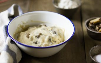 Dairy-Free Condensed Cream of Mushroom Soup Recipe (Campbell's Copycat!) - Fast, Easy, Uses Pantry Ingredients, and Delicious. Great in Recipes or as Soup. Naturally Vegan, Nut-Free, and Soy-Free. Gluten-Free Option.
