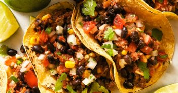 Mexican Mushroom Beef Tacos Recipe made Dairy-Free, Gluten-Free, and Allergy-Friendly