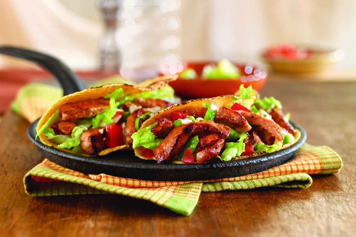 Sweet 'n Spicy Pork Tacos Recipe