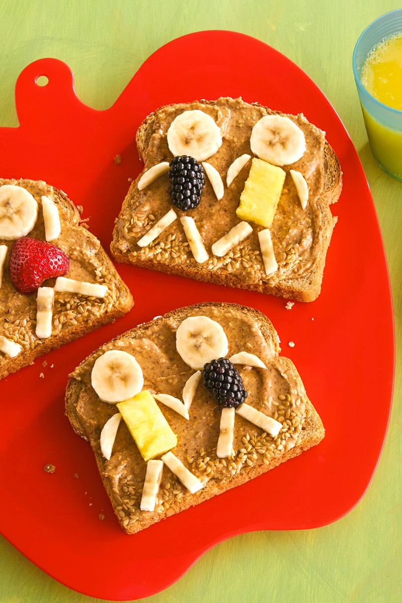Healthy Kids Toast Recipe + Activities to Make Healthy Snacking Fun