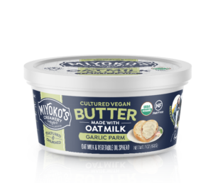 Miyoko's Oatmilk Vegan Butter - cultured dairy-free butter alternative made with oat milk. We have ingredients, ratings, reviews, and more.