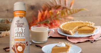 Natural Bliss Oat Milk Creamer Reviews and Info - dairy-free, vegan, and three baking-inspired flavors: Vanilla, Brown Sugar, and Pumpkin Spice