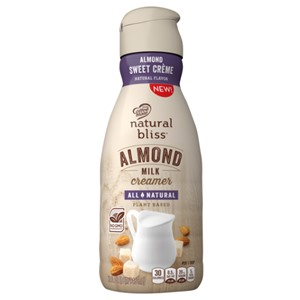 Natural Bliss Almond Milk Creamer Reviews and Information - dairy-free, vegan, and available in several sweet flavors. We have ingredients, ratings, and more ...