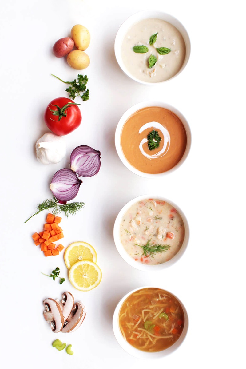 Safe Harvest Soups and Chowders Reviews and Information - dairy-free, gluten-free, paleo clam chowder, salmon chowder, shrimp bisque, and chicken oodle