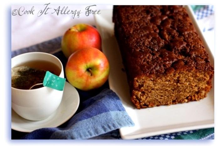 Gluten-Free Chai Spice Apple Bread