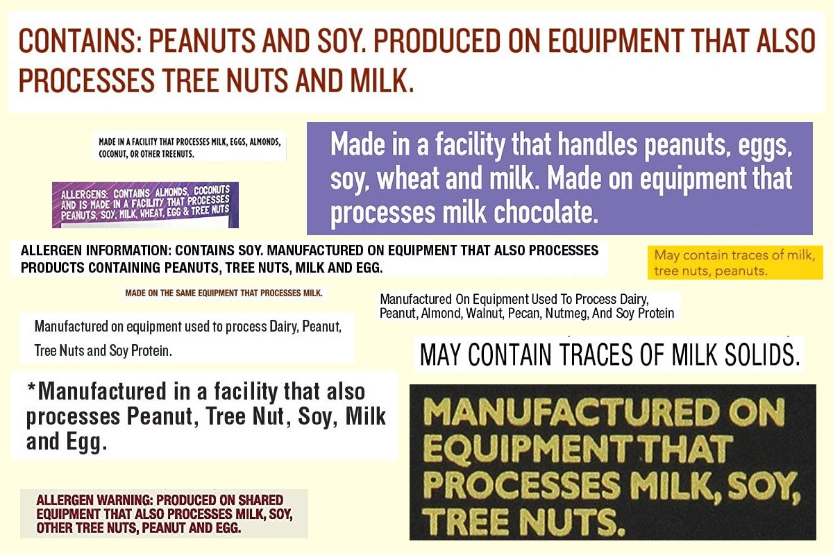 "What are ""May Contain"" Statements and What do They Mean for You - includes information you need to know about allergens in production"