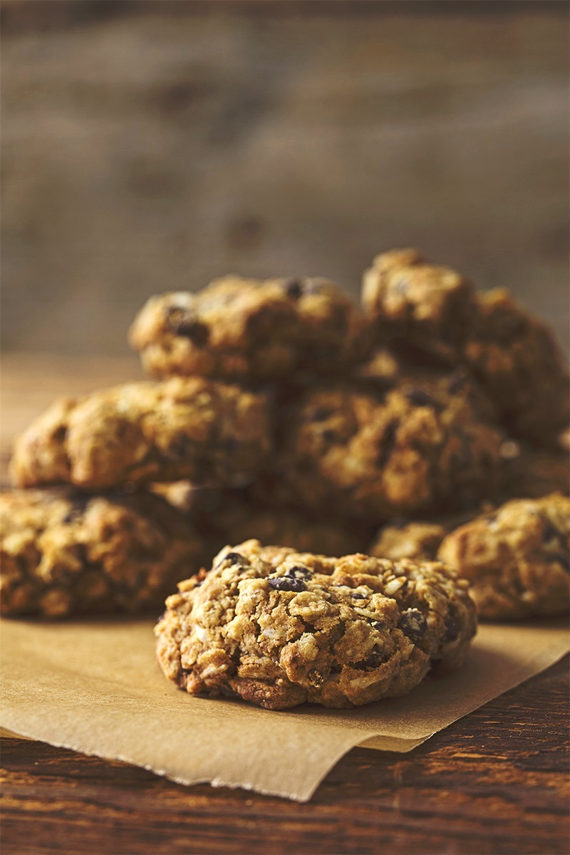 Mamma's Big Batch Breakfast Cookies Recipe - naturally plant-based and gluten-free, made with oats, almond flour, and maple syrup