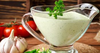 Dairy-Free Green Goddess Sauce Recipe - Plant-Based with Vegan Option