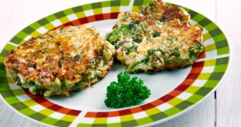 Spinach Latkes Recipe - Naturally Dairy-Free, Optionally Gluten-Free served with Green Goddess Sauce