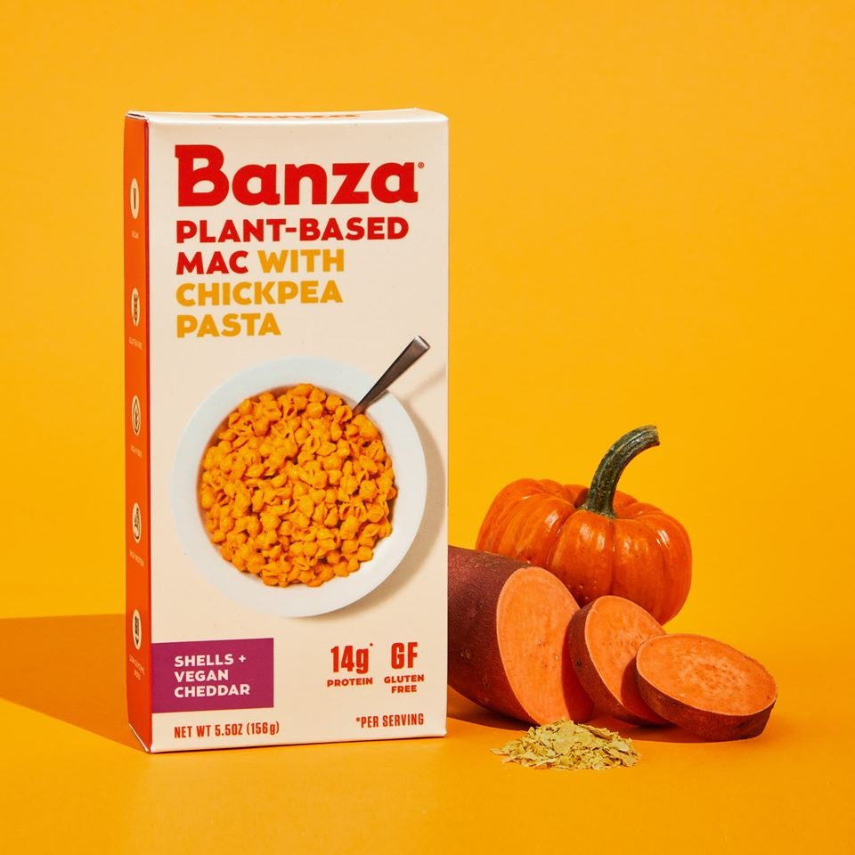 Banza Plant-Based Mac Reviews and Info - Vegan, Gluten-Free, Dairy-Free alternative to mac and cheese