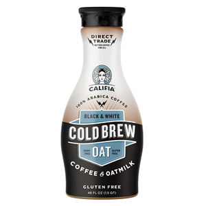 Califia Cold Brew Coffee and Oatmilk Reviews and Information (Dairy-free, Gluten-free, Nut-free, Soy-free, and Vegan)