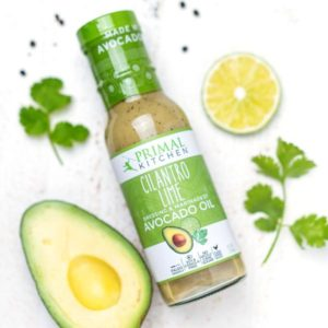 Primal Kitchen Dressing Reviews and Info. Dairy-Free, Paleo-Friendly Salad Dressings & Marinades. Pictured: Cilantro Lime