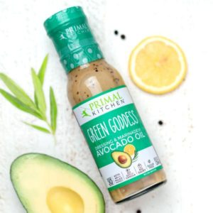 Primal Kitchen Dressing Reviews and Info. Dairy-Free, Paleo-Friendly Salad Dressings & Marinades. Pictured: Green Goddess