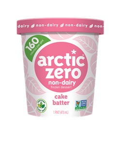 Arctic Zero Non-Dairy Frozen Dessert (New!) - All the Details (Ingredients, Availability & More) on this Plant-Based, Low-Calorie, Low-Sugar, Low-Fat Ice Cream
