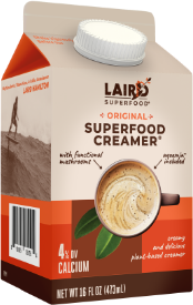 Laird Liquid Superfood Creamer Reviews and Info - Dairy-Free, Paleo, Plant-Based, Ready to Pour Creamers with Functional Mushrooms