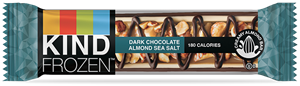 Kind Frozen Bars Reviews and Information. Snack bar meets dairy-free ice cream treat. Flavors include dark chocolate peanut butter and dark chocolate almond sea salt - both vegan.