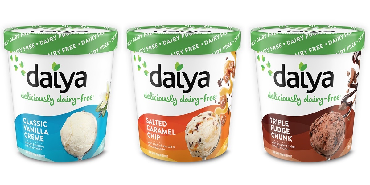 Daiya Dairy-Free Ice Cream Pints Reviews and Info - Vegan, Gluten-Free, Nut-Free, Soy-Free and made with Rich, Churned, Coconut Cream. Pictured: All