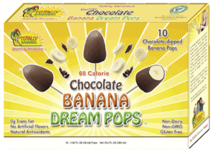 Chocolate Banana Dream Pops by Totally Bananas - Reviews and Info for these dairy-free, gluten-free, vegan, creamy pops