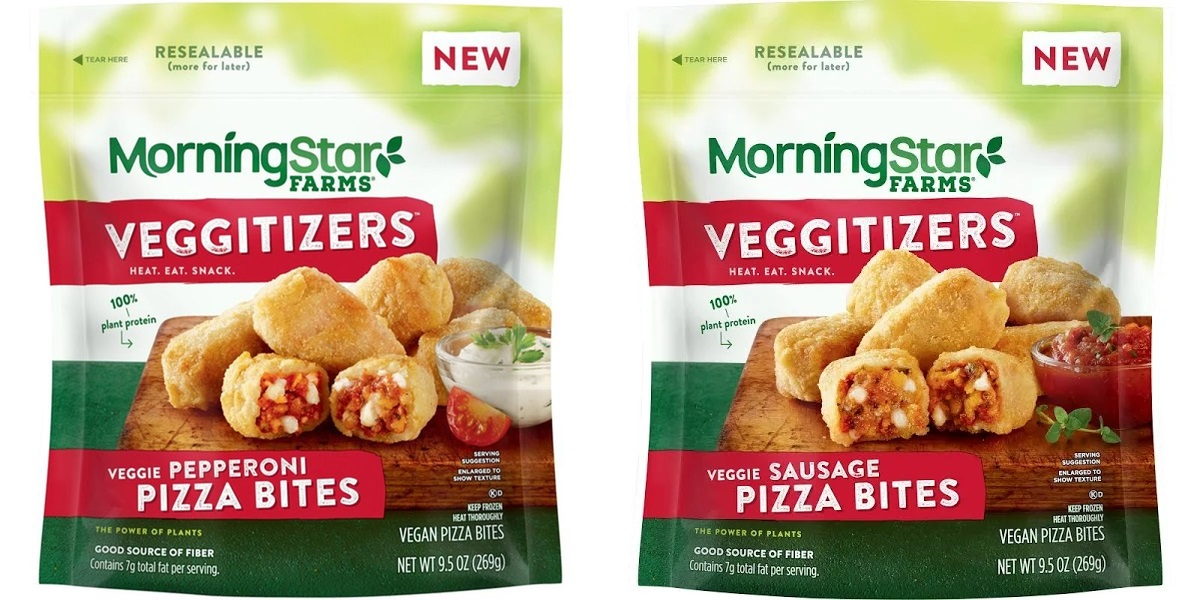 MorningStar Farms Pizza Bites Reviews and Info - Dairy-Free, Plant-Based Veggitizers