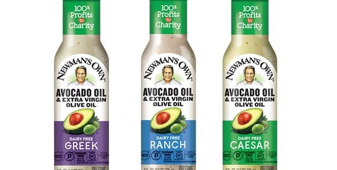 Newman's Own Avocado Oil Dressings are Rich, Creamy, and Purely Dairy Free