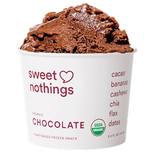 Sweet Nothings Frozen Smoothies Reviews and Info - dairy-fee, plant-based, paleo, vegan, soy-free with no added sugar or sweeteners. Like nice creams!
