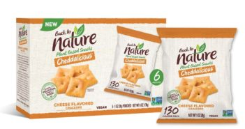 Back to Nature Cheddalicious Crackers are Cheesy Vegan Squares - Reviews and Info for these Dairy-Free Cheez-It like crackers