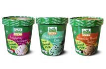 Earth Grown Coconut Milk Ice Cream Reviews and Info - Aldi's Non-Dairy Frozen Dessert Pints made with Coconut Milk Base. Vegan Certified. Pictured: All 3 Flavors