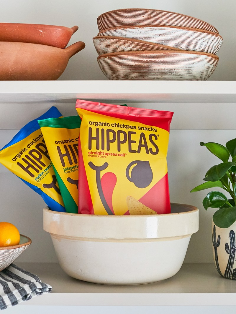 Hippeas Tortilla Chips Reviews and Info - gluten-free, dairy-free, soy-free chickpea chips in ranch, vegan cheddar, and salted flavors