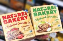 Nature's Bakery Oatmeal Crumble Bars Reviews and Info. Dairy-free, nut-free, soy-free, vegan breakfast bars. Pictured: Apple and Strawbery