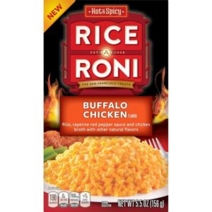 Dairy-Free Pasta Roni and Rice-a-Roni Flavors - including Saucy Buffalo! Reviews and full info.