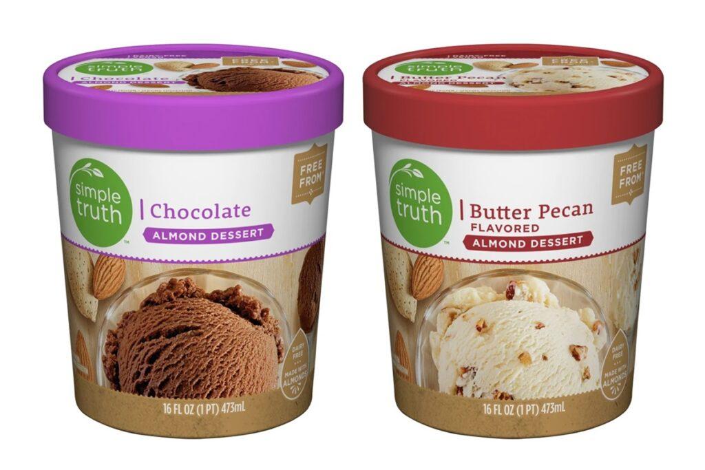 Jayc Foods Christmas Countdown 2020 Simple Truth Almond Frozen Dessert Reviews & Info (Kroger Brand)