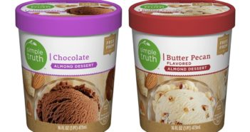 Simple Truth Almond Frozen Dessert Reviews and Info - Dairy-Free, Vegan Ice Cream at Kroger Stores in the U.S.