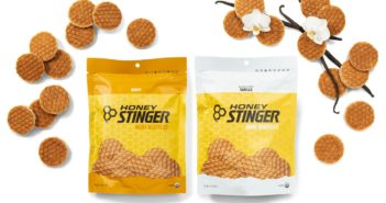 Honey Stinger Waffles Reviews and Info - Dairy-Free, Organic Energy Waffles, Mini Waffles, and Gluten-Free Waffles. Pictured: Mini Waffles