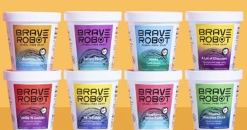 "When Vegan Isn't Dairy-Free, a New Era of Engineered Food. The new ""animal-free"" dairy products and what they mean for dairy-free consumers. Pictured: Brave Robot Ice Cream made with Genetically Engineered, ""Vegan"" Perfect Day Milk Proteins"