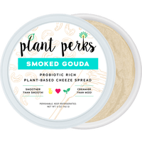 Plant Perks Cheeze Spread Reviews & Info - dairy-free, plant-based, soy-free, gluten-free cheese alternative cultured with probiotics and enriched with MCT oil. Five flavors.