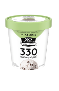 So Delicious Dairy Free Light Ice Cream Reviews and Info - formerly So Delicious Frozen Mousse Dessert - New Look, New Name, New Flavors, same Whipped, Creamy Formula. Vegan, Gluten-Free, Soy-Free.